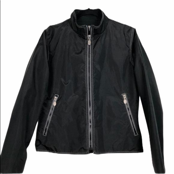 Boardroom Brand Black Jacket 100% Nylon Size S